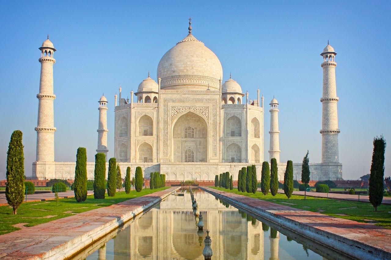 Taj Mahal- Famous Tourist Attraction